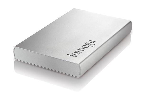 Wiederherstellen einer externen Iomega Festplatte