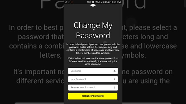 How to Recover Snapchat Email Address and Password