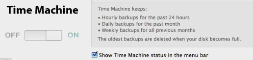 mac time machine