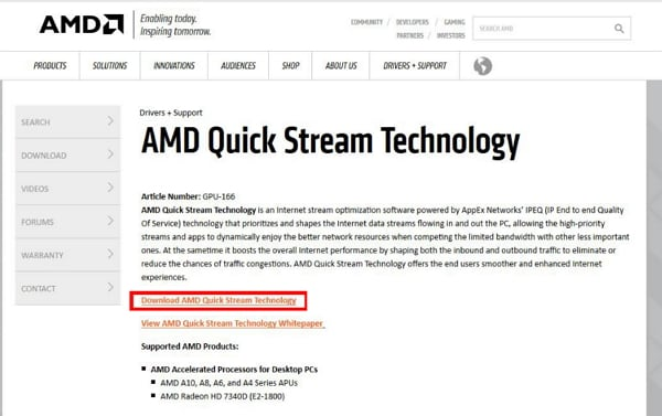 How to Solve the AMD Quick Stream License Error in Windows