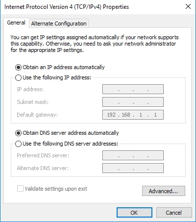 Troubleshooting on Windows Computer Can't Connect to Internet