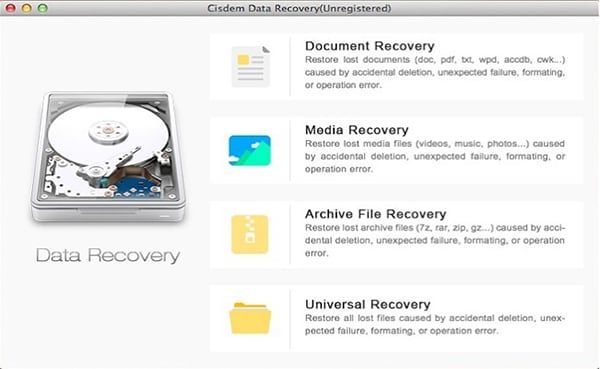 Data Recovery 3 for Mac