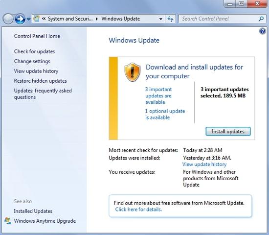windows computer won't shut down