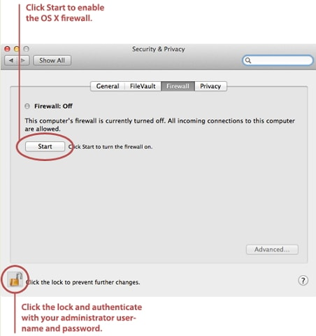 How to Turn Windows Firewall on or off in Mac and Windows 10/8/7/XP