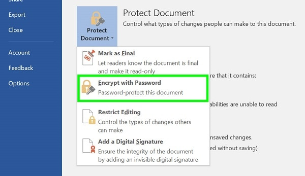 How to Encrypt and Decrypt Word Files on Windows