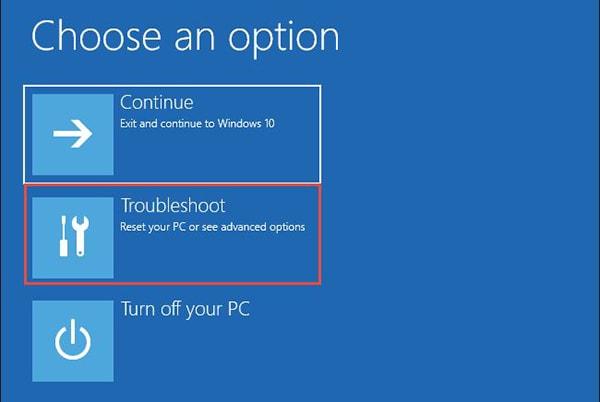 enter safe mode on windows 10