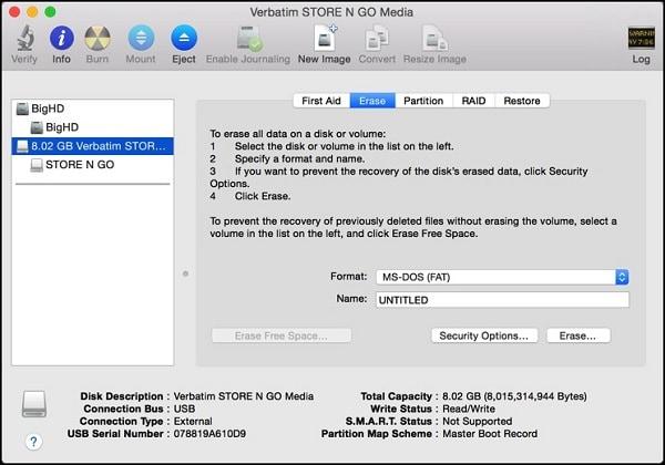 fix flash drive not recognized mac