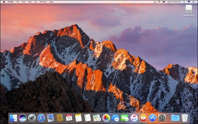 istall macos high sierra on external hard drive