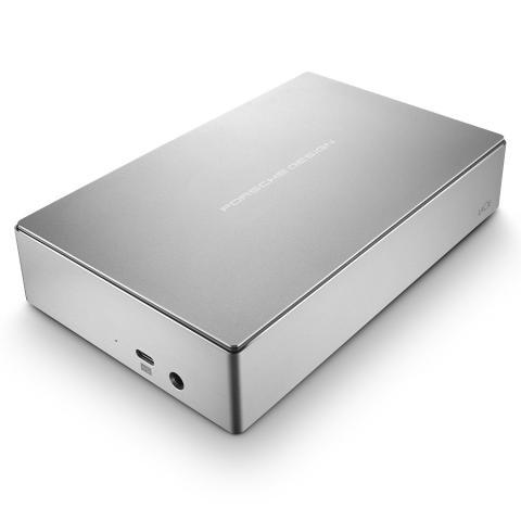 LaCie Porsche design USB-C + USB3.0 desktop