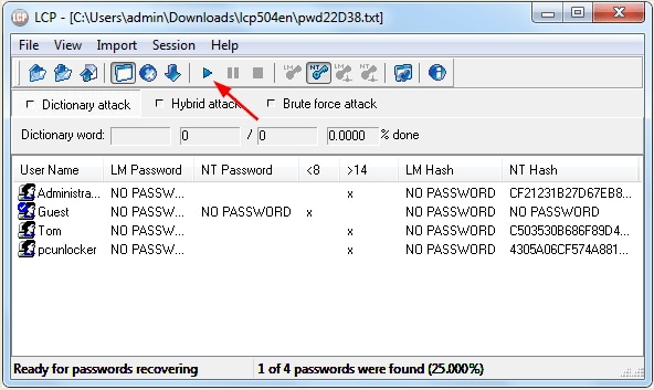 The Best 5 Windows 7 Password Cracker Software