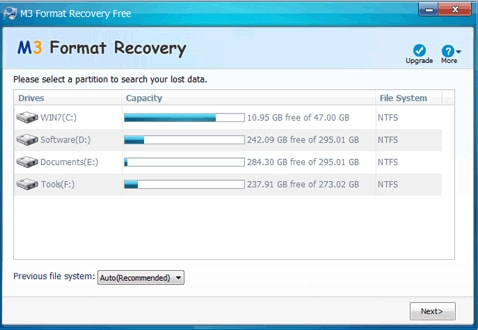 Top 5 Formatted Data Recovery Software Free Download