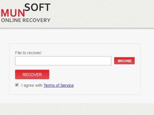 munsoft online recovery
