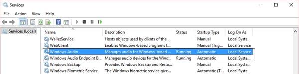 fix no sound on windows error