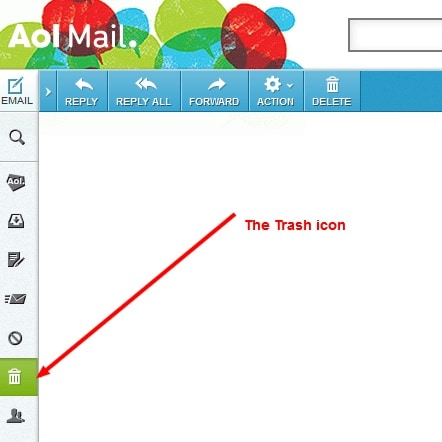 recover deleted aol email