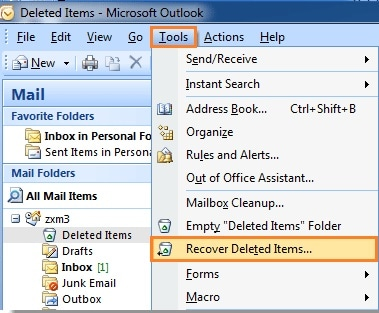 2 Methods on How to Recover Deleted Emails from Exchange