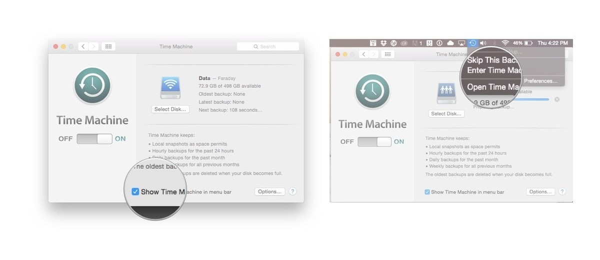 restore deleted photos from time machine