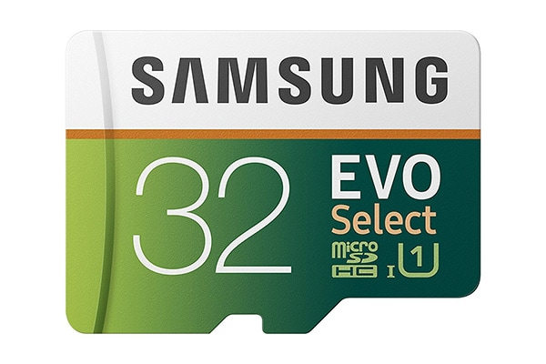 Samsung MicroSD EVO Select Memory Car