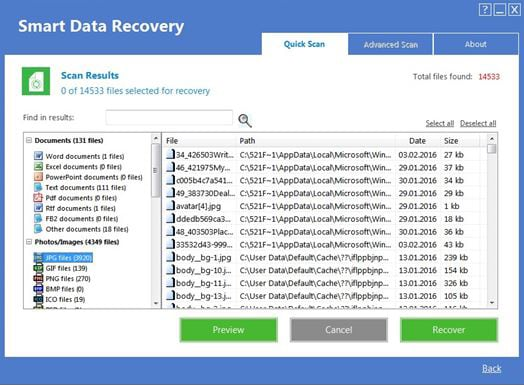 Free Download Alternative to Smart Data Recovery for Mac
