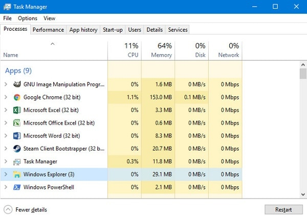 The Best 6 Fixes for Windows 10 Taskbar Not Working Problem