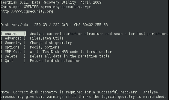 How to Use TestDisk Data Recovery to Recover Data