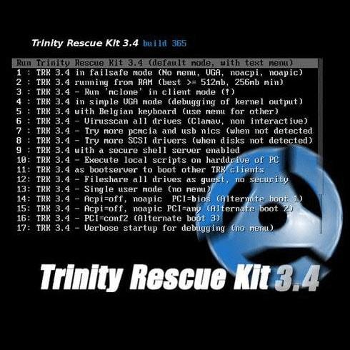 Trinity rescue kit