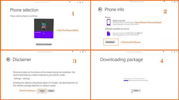 windows phone recovery tool