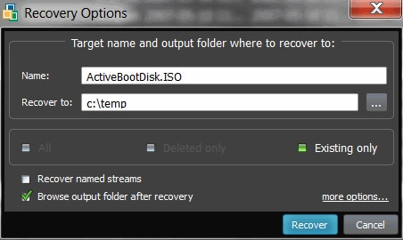 ActiveFile Recovery Alternative Software for Windows