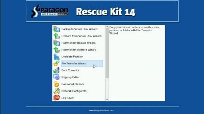 Paragon Rescue Kit