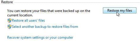 open files restoration on windows