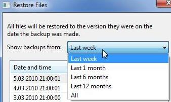 recover overwritten file to previous version