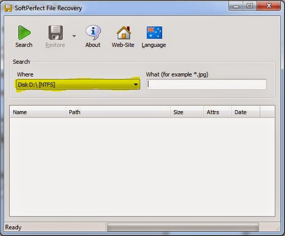 SoftPerfect File Recovery Alternative Software for Windows