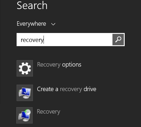 Guide To Create Recovery Disc on Windows