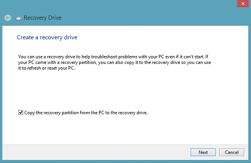 windows 7 recovery usb