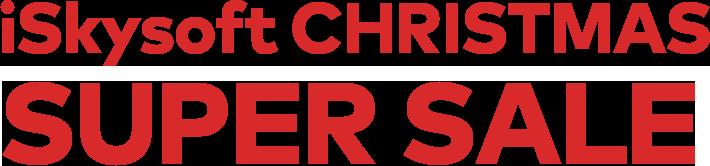 iSkysoft CHRISTMAS SUPER SALE