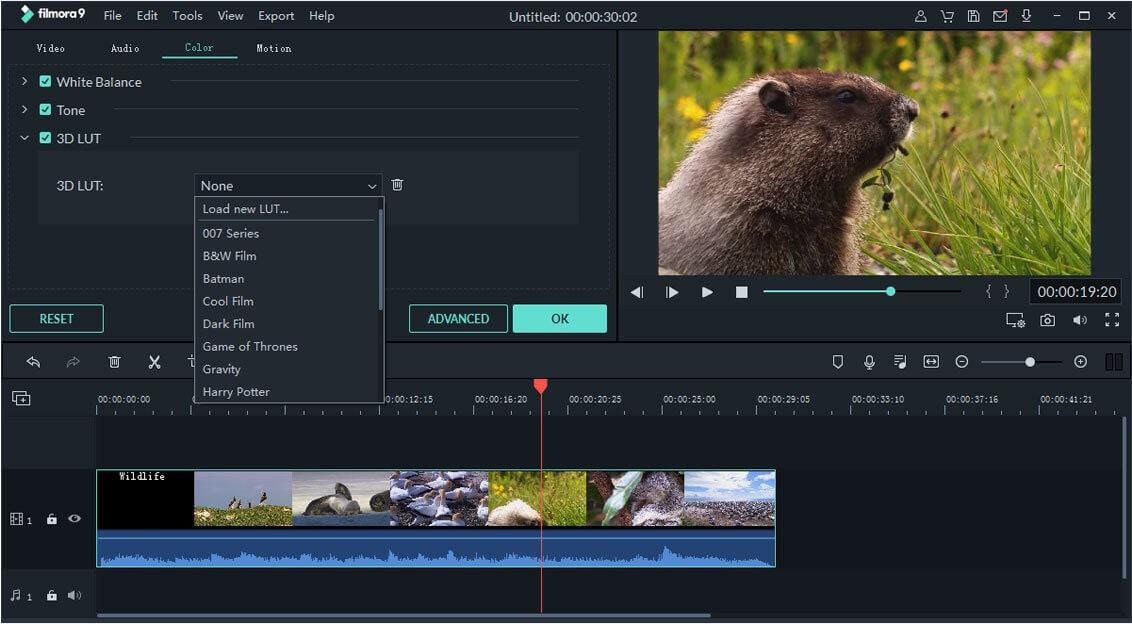 Action Cam Tool 3d lut