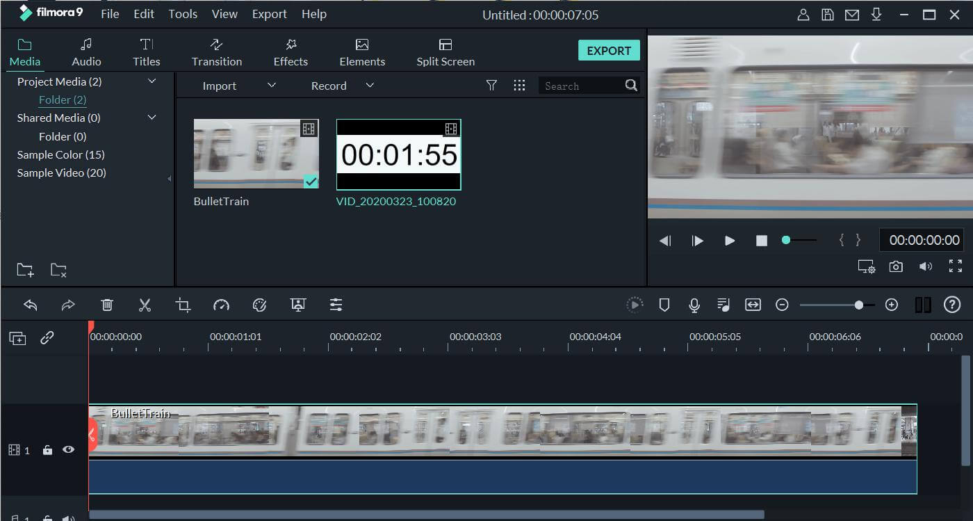 add timer to video