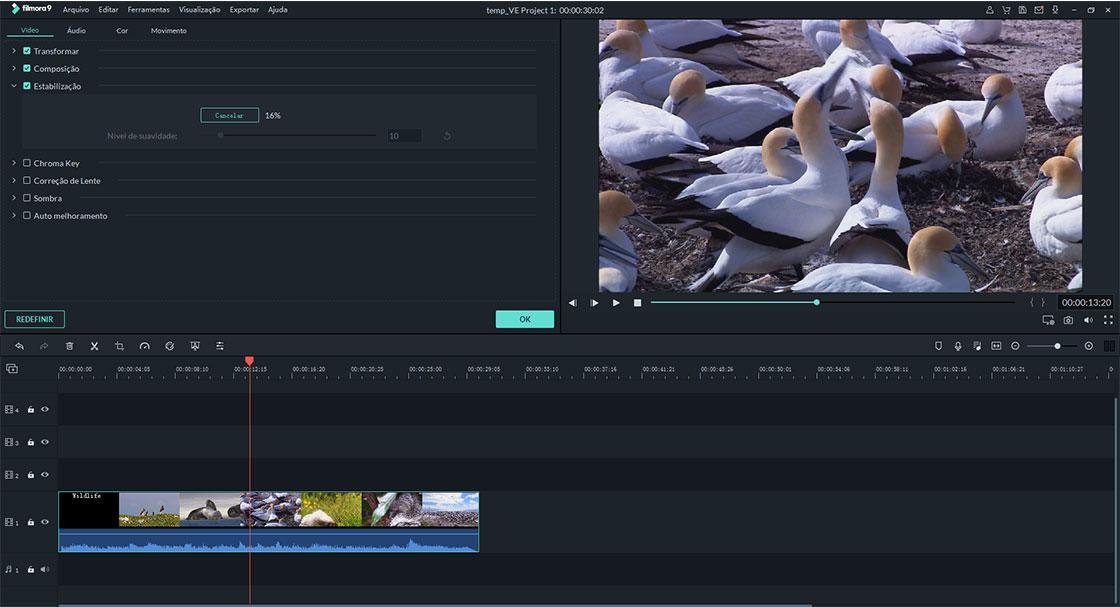 estabilizar vídeos