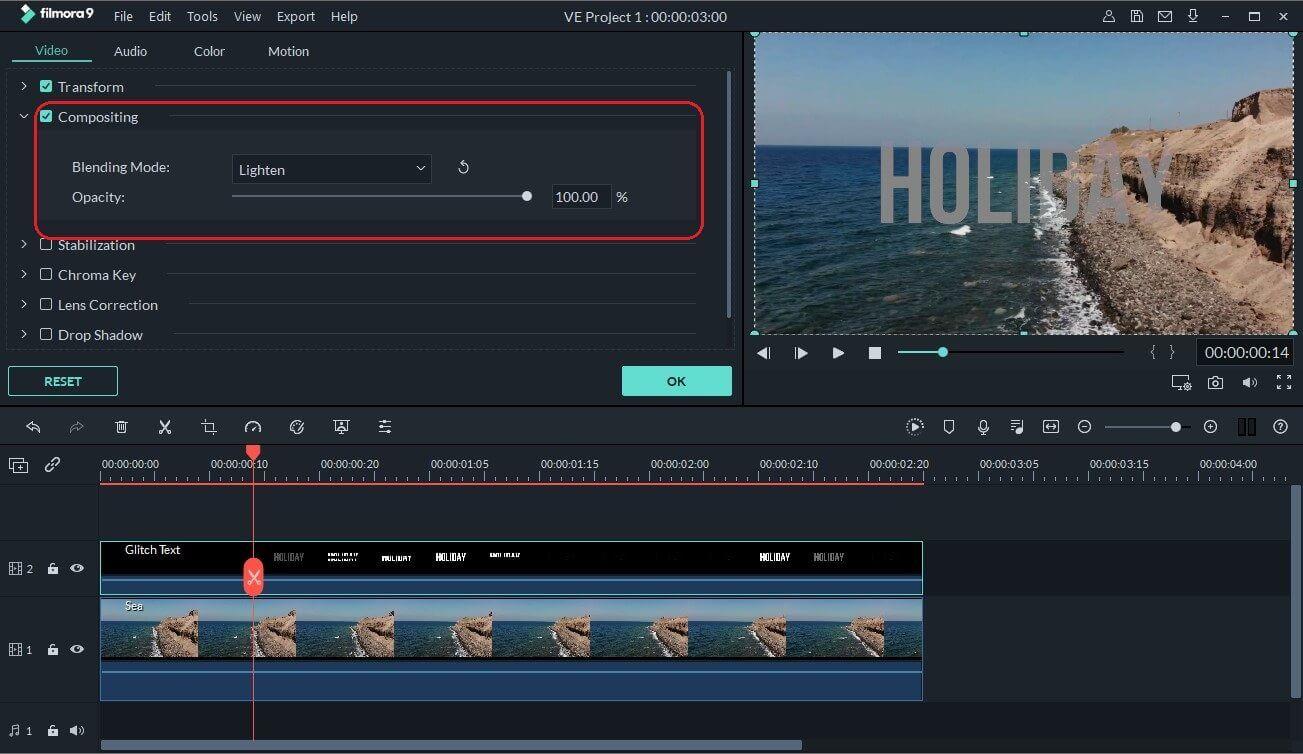 glitch text tutorial