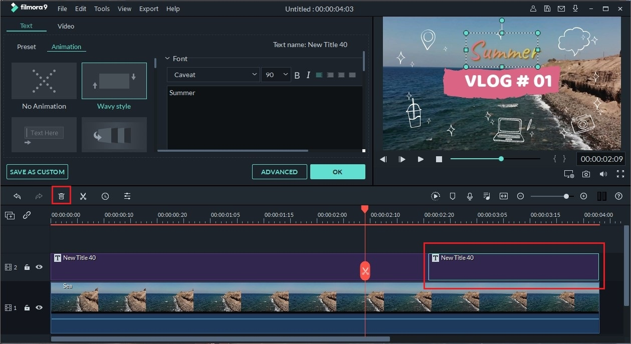 add text in video on mac