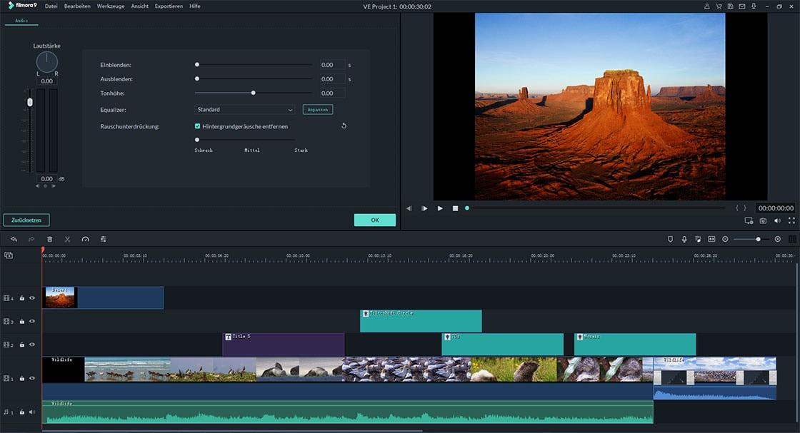 video ton verbessern