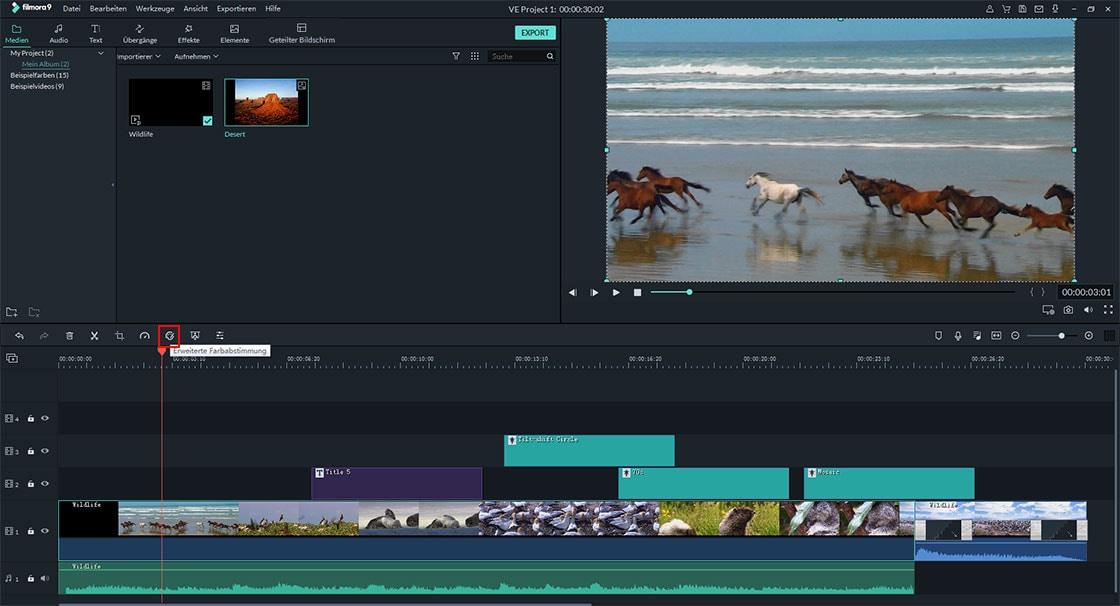 Videofarbkorrektur für YouTube:So ändern Sie Hintergrundfarbe der YouTube-Videos