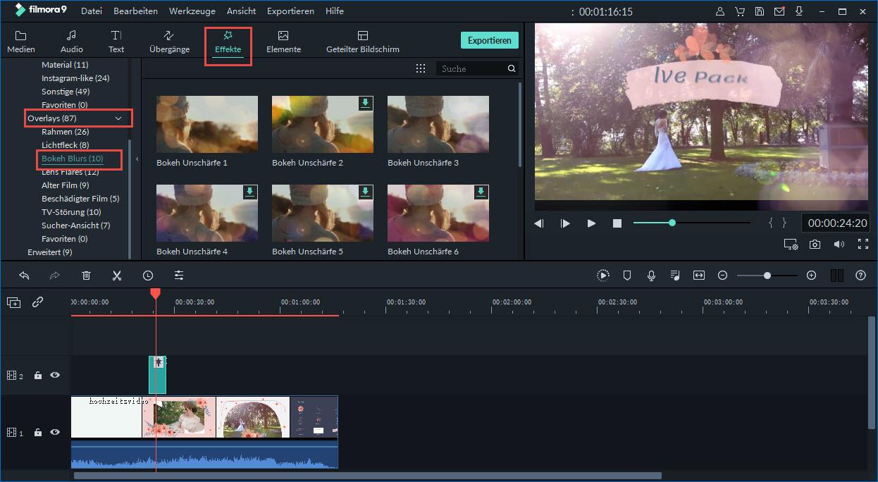 bokeh video hintergrund kostenlos