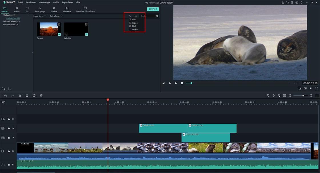 youtube videos mit filmora video editor bearbeiten