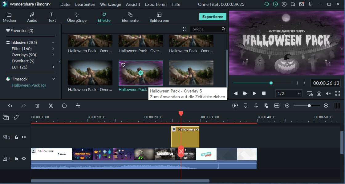 video mit effekte bearbeiten