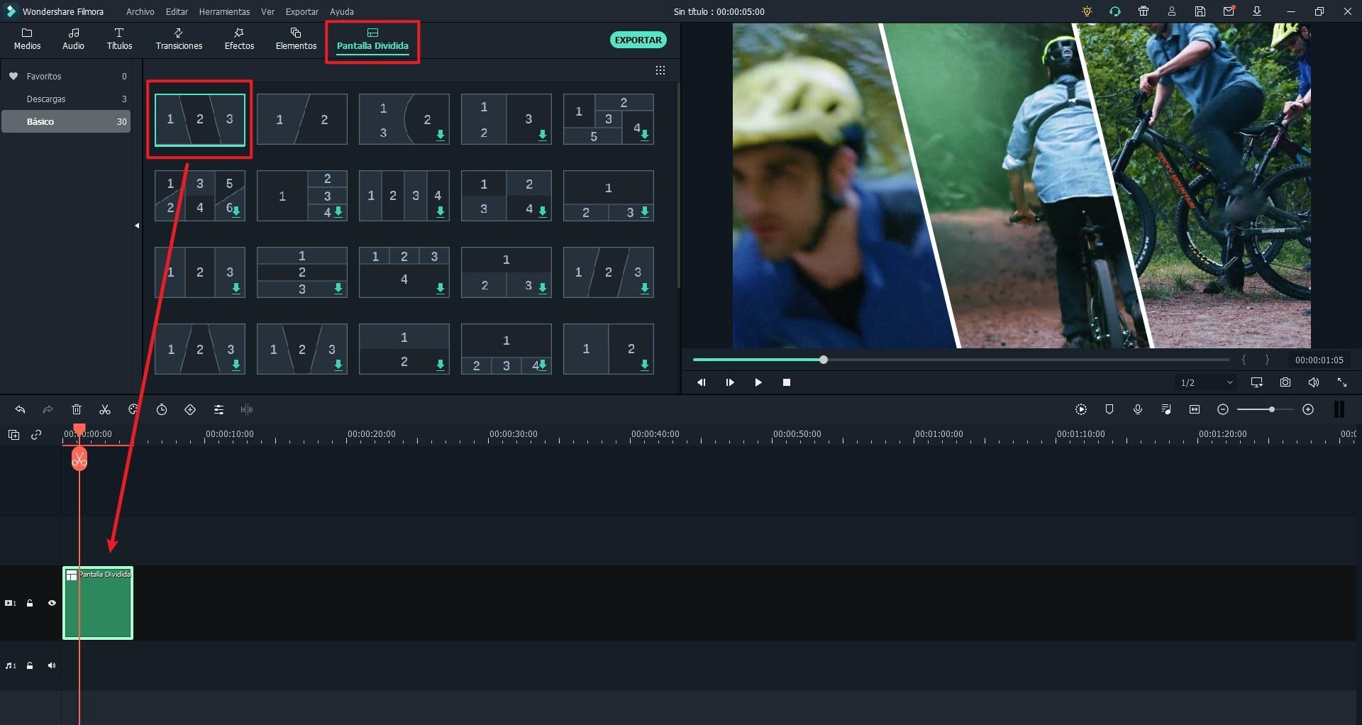 Editor de Videos de Pantalla Dividida - Cómo Hacer Un Video de Pantalla Dividida