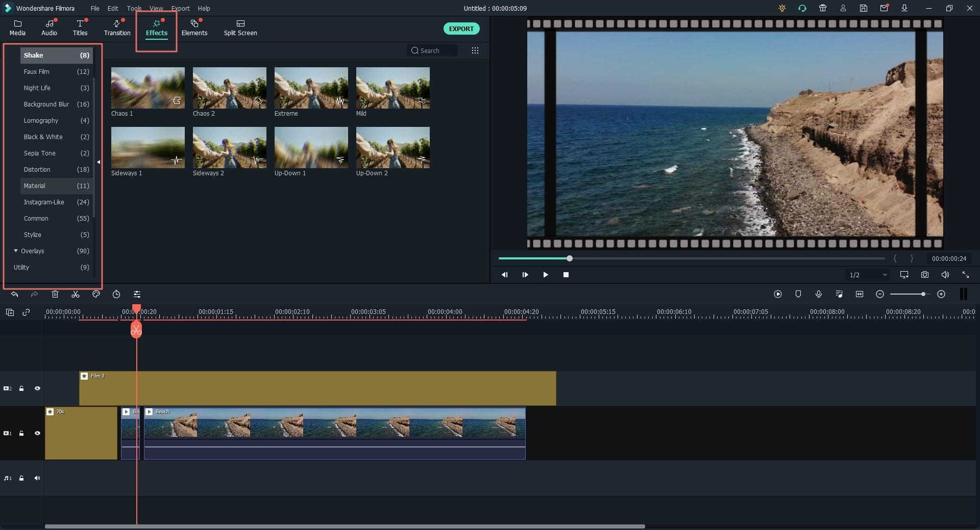 Toevoegen van Filtereffecten om Uw Video te Verbeteren
