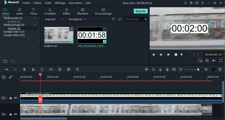 comment ajouter un minuteur à la vidéo