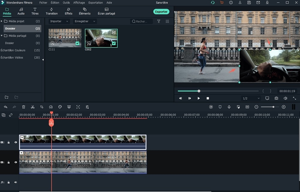 Superposition vidéo  | comment superposer deux vidéos/images