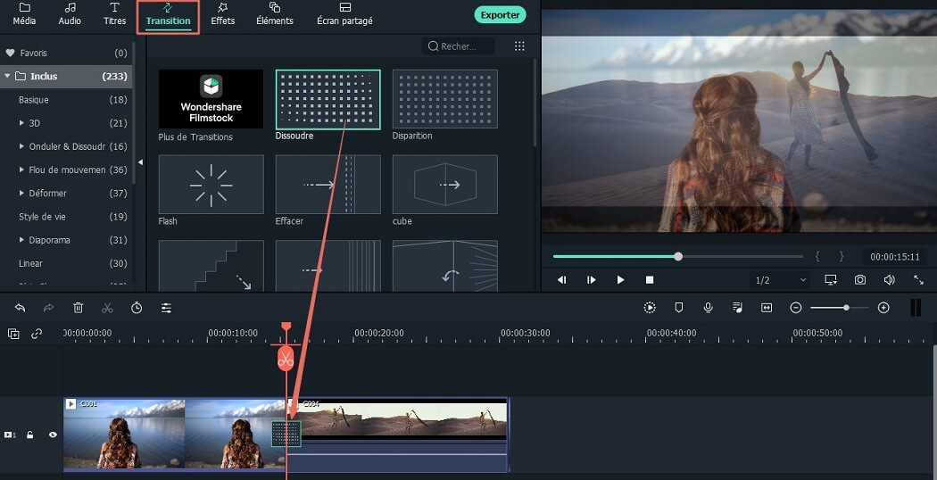 Meilleure alternative à VivaVideo Free Video Editor pour Windows 10 et Mac OS