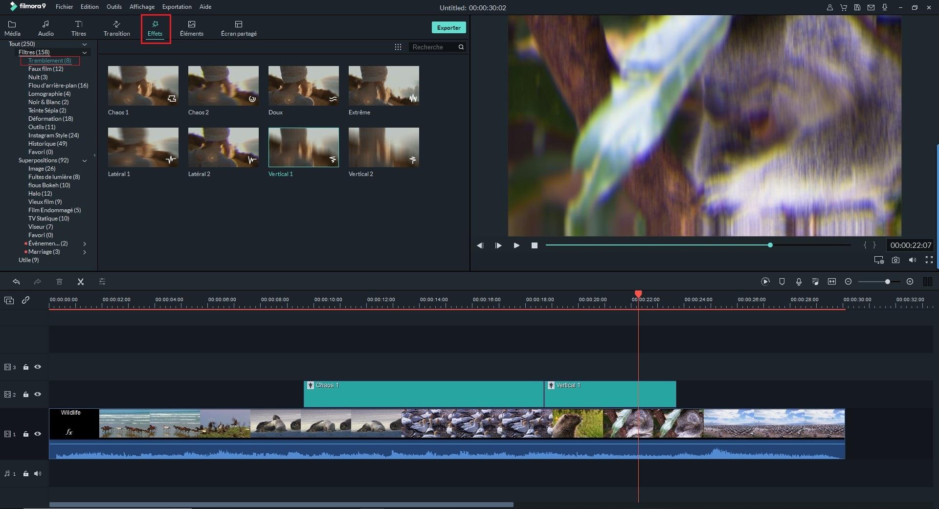 [2 méthodes] Comment créer une vidéo avec l'effet de tremblement